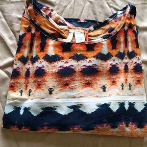 Japna print blouse. M